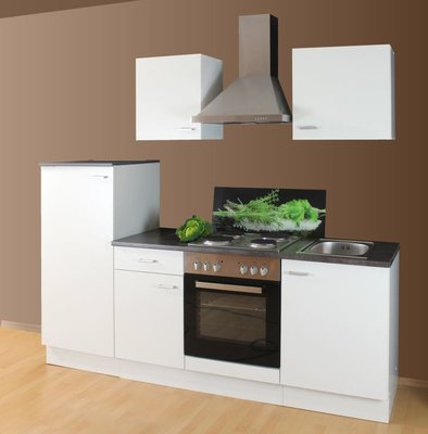 Keukenblok 200-210cm incl koelkast, oven en kookplaat RAI-710