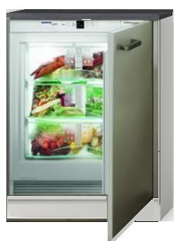 Inbouw koelkast 60cm zonder vriezer