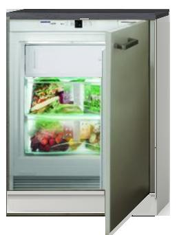 Inbouw koelkast 60cm met vriezer