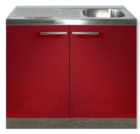 Keukenblok Imola rood 100 x 60 cm HRG-3103