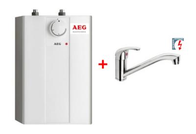 Onderbouw boiler AEG 5l incl lagedruk kraan RAI-1011