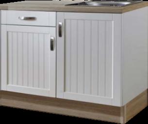keukenblok 110 MDF wit RAI-9911