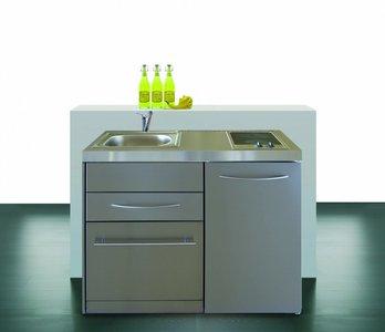 MPGS 110 Bruin met vaatwasser en koelkast RAI-9523