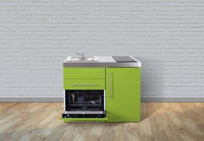 MPGS 110 Groen met vaatwasser en koelkast RAI-9523