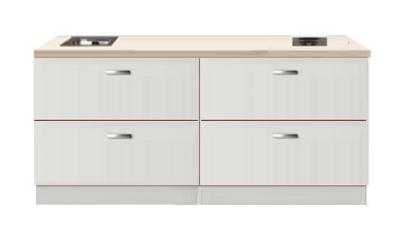 Kitchenette 200cm Wit Hoogglans RAI-110239
