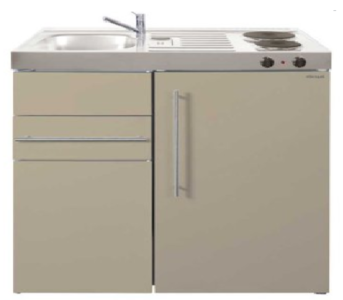 MK 90 Zand met koelkast en een la RAI-9515