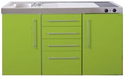 MPS4 150 Groen met koelkast en 4 ladekasten RAI-9535