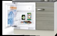 Keuken Kitchenette 100cm Vigo incl mini inbouw koelkast RAI-2252