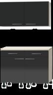 Keuken Buffetkast 120cm met stelpoten RAI-775