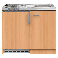 Keuken Pantry kitchenette 100 x 60 incl koelkast en e-kookplaat
