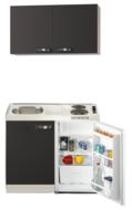 Keukenblok Faro 100cm met koelkast en e-kookplaat RAI-1662