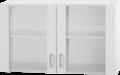 Bovenkast-Klassiek-60-Wit-met-glas-100cm-x-35-cm-OPTI-36