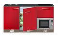 kitchenette-160cm-rood-incl-4-pit-inductie-kookplaat-inbouw-koelkast-en-inbouw-combi-magnetron-RAI-4499