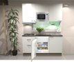 Keukenblok-180cm-wit-hoogglans-incl-kookplaat-afzuigkap-inbouwkoelkast-en-combi-magnetron-RAI-11029