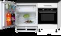 Keukenblok-120cm-incl-inbouw-koelkast-en-oven-RAI-773