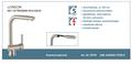Lage-druk-keukenkraan-LONDON-ééngreepsmengkraan-keuken-met-uittrekbare-sproeier-RVS-look-HRG-336