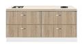 Kitchenette-200cm-Houtnerf-Padua-RAI-440039