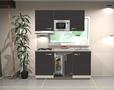 Keukenblok-150-cm-Antraciet-mat-incl-gas-kookplaat-afzuigkap-en..