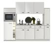 Keuken-240cm-wit-hoogglans-incl-koelkast-kookplaat-en-apothekerskast-RAI-372-2
