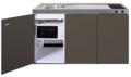 MKM-150-Bruin-met--losse-magnetron-en-koelkast-RAI-334