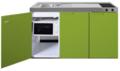 MKM-150-Groen-met--losse-magnetron-en-koelkast-RAI-335