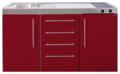 MPS4-150-Bordeauxrood-met-koelkast-en-4-ladekasten-RAI-9532