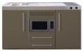 MPM-150-Bruin-met-koelkast-en-magnetron-RAI-955