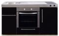 MPB-150-Zwart-metalic-met-koelkast-en-oven-RAI-939