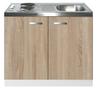 Keukenblok-Padua-houtnerf-100cm-met-twee-deuren-incl-e-kookplaat-RAI-1215
