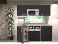 kitchenette-Faro-Antraciet-mat-160cm-met-vaatwasser-koelkast-e-kookplaat-afzuigkap-en-magnetron-RAI-033