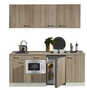 keukenblok-180-met-inbouw-koelkast-magnetron-en-2-pit-elektrisch-kookplaat