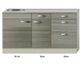Keukenblok-120cm-vigo-grijz-rood-RAI-4392