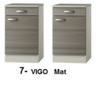 3-in-1 minikeuken + kookplaat + vaatwasser + koelkast 160cm RAI-1004